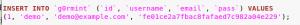 a backup database file on target g0rmint